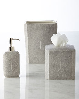"""Shagreen"" Vanity Accessories"