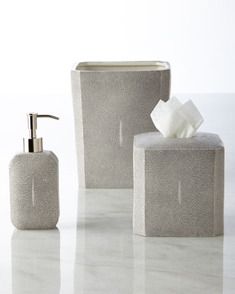 Shagreen Vanity Accessories
