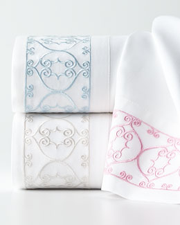Dena Home Embroidered Scroll Sheet Sets