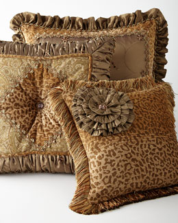 Dakari Embellished Pillows