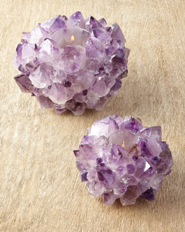 Kathryn McCoy Design Amethyst Votives