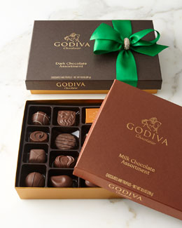 Godiva Milk & Dark Chocolate Assortments