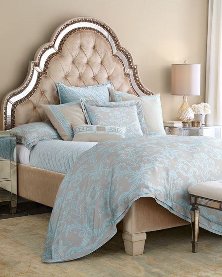 lili alessandra seafoam blue mackie bedding