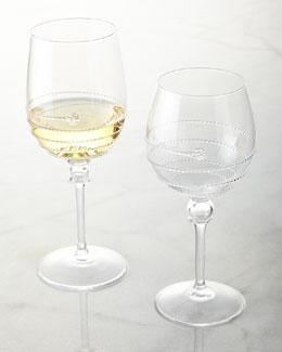 Juliska Amalia Full Body Wine Glasses