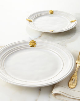 Acanthus Gold Leaf Dinnerware