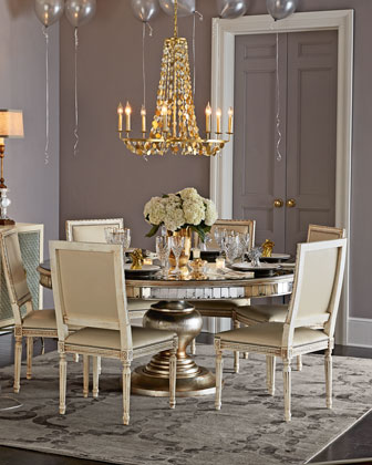 Melissa Dining Chair & Lisandra Dining Table