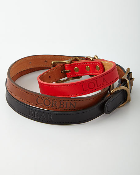 Personalized Medium Dog Collar