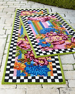 Flower Market Outdoor Rug
