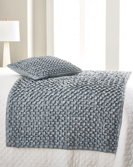 Woven Ribbon Throw & Pillow