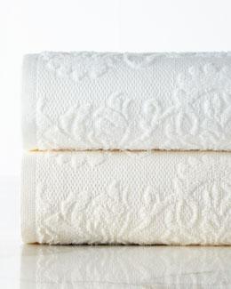 Brocade Towels