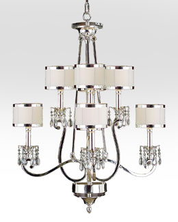 Silver-Finish Chandeliers