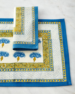 Bleuet Table Linens
