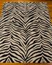 """Guyer Zebra Rug, 5'3"""" x 7'4"""""""