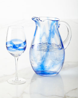 Admiral Pitcher & Wine Glasses
