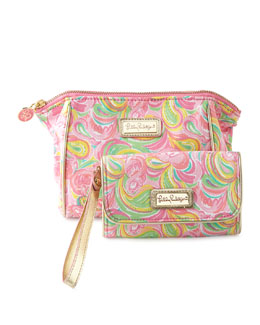 All Nighter Cosmetic Bag & It's a Keeper Phone Wristlet