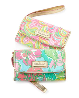 Big Flirt Wanderlust & It's a Keeper Wristlets