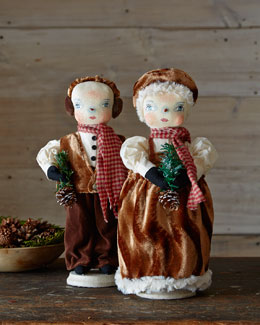 Forrest & Fannie Holiday Figures
