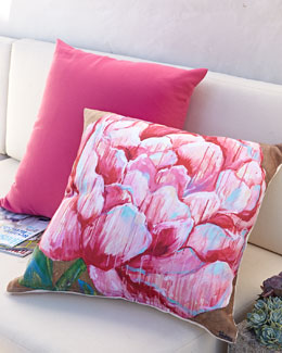 Pink Outdoor Pillows