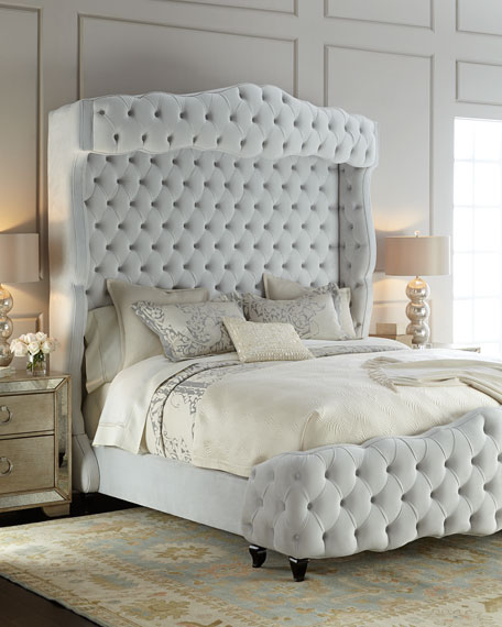 Grand Chez Tufted Queen Bed