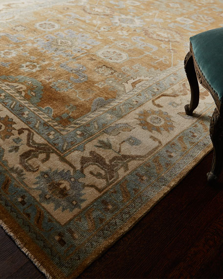 Morning Light Oushak Rug, 6' x 9'