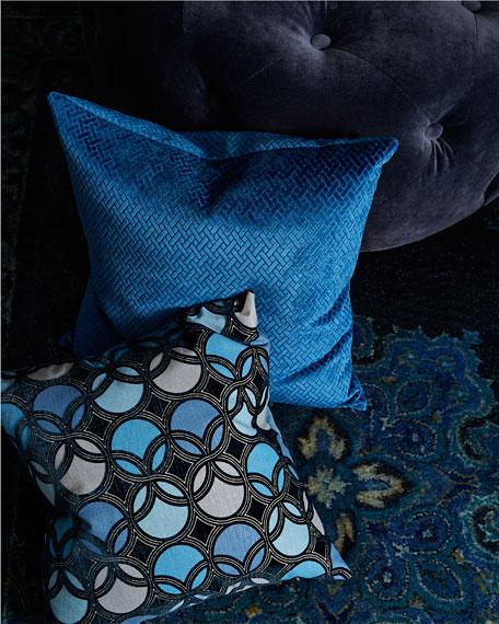 Laguna Navy Pillow