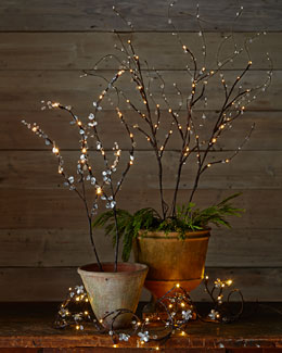 Lighted Branches & Garland