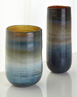 Gray Ombre Vases