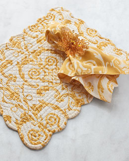Florence Placemats, Napkins, & Napkin Rings