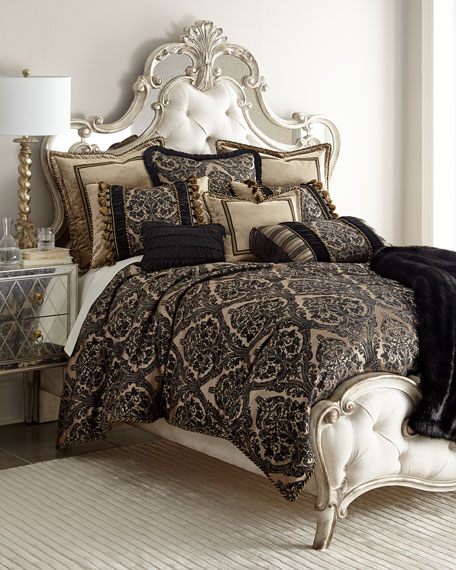 Queen Florence Damask Duvet Cover