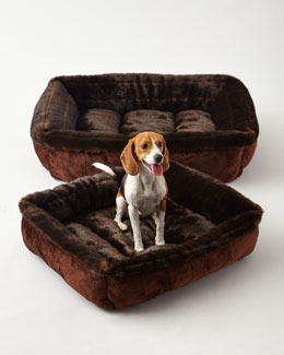 Faux-Fur Dog Beds