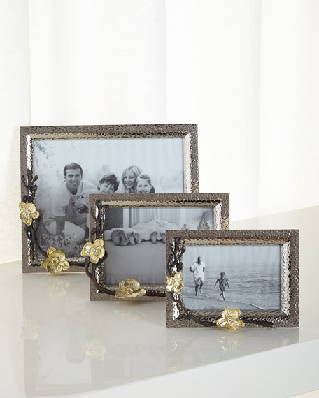 Michael Aram Gold Orchid Frames