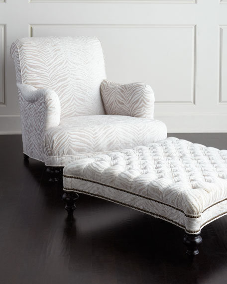 Colleen Tufted Ottoman