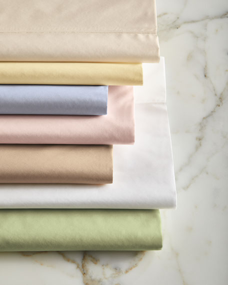 Full Italian 500 Thread Count Percale Fitted Sheet