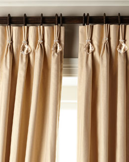 Shimmer Curtains with Asfour Crystals