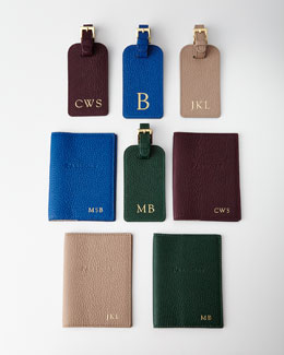 Personalized Passport Case & Luggage Tag
