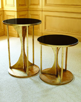 Hourglass Side Tables