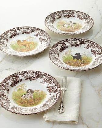 Woodland Hunting Dog Dinnerware