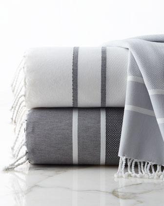 Fouta Herringbone Towels