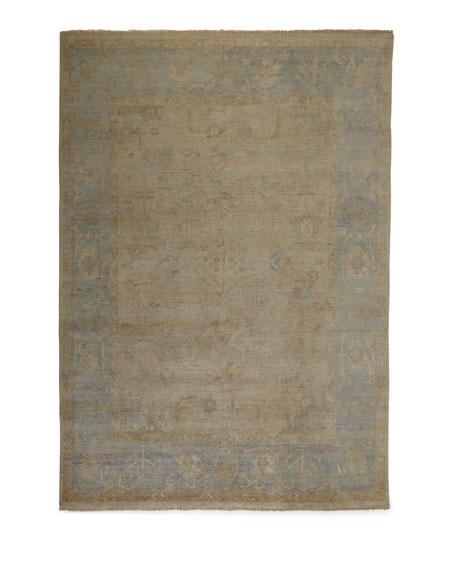 Henrietta Oushak Rug, 6' x 9'