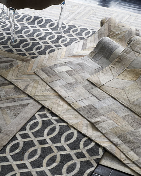 """Maguire Hairhide Rug, 11'6"""" x 14'"""