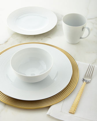 4-Piece Wheat Dinnerware Place Setting & Charger Plate