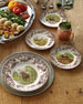 Woodland Moose Salad Plates, Set of 4