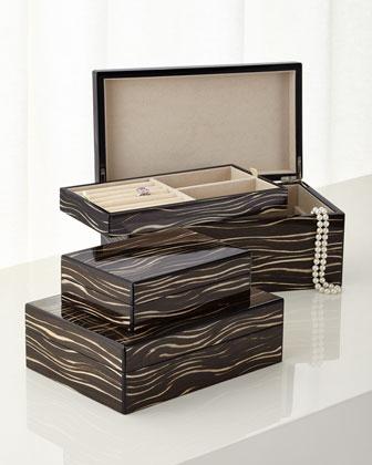 Java Wenge Storage & Jewelry Boxes