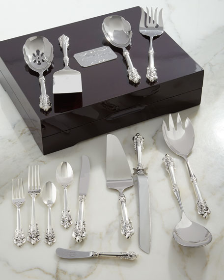 Grande Baroque 75th Anniversary Serving Set