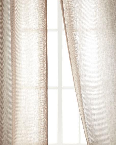 "Each 54""W x 96""L Encore Stripe Curtain"