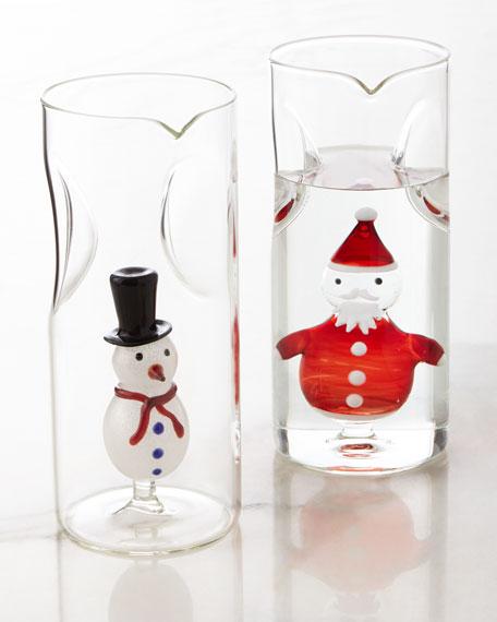Santa Claus Carafe