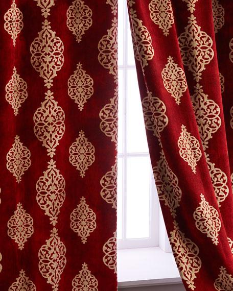 "Each 52""W x 96""L Camelot Curtain"