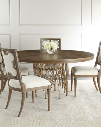 Holly Springs Dining Table U0026 Linen Clover Side Chair