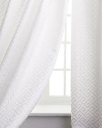 Greek Key Curtains