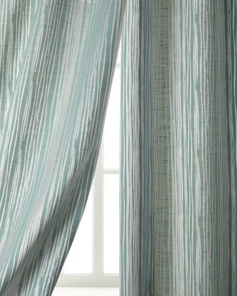 Abstract Stripe Curtains